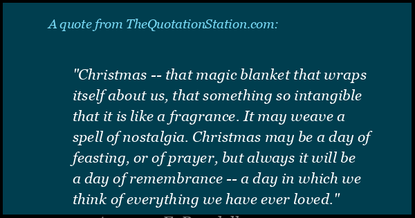Christmas Nostalgia Quotes.Quotes By Augusta E Rundell The Quotation Station