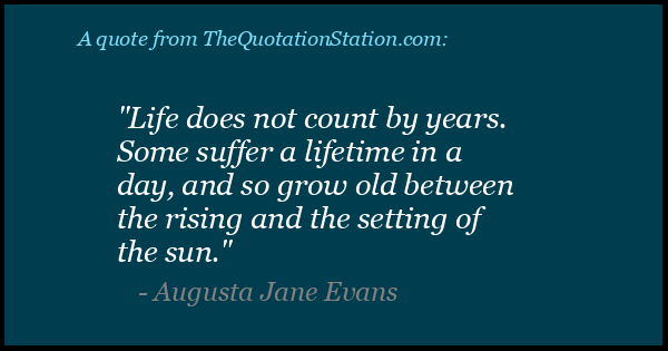 Click to Share this Quote by Augusta Jane Evans on Facebook