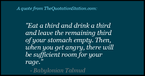 Click to Share this Quote by Babylonian Talmud on Facebook