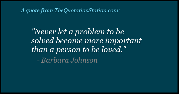 Click to Share this Quote by Barbara Johnson on Facebook