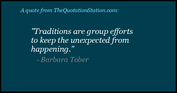 Click to Share this Quote by Barbara Tober on Facebook