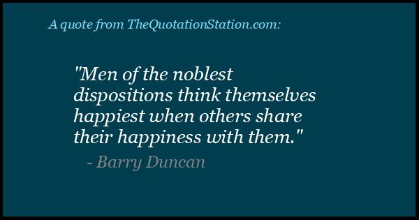 Click to Share this Quote by Barry Duncan on Facebook