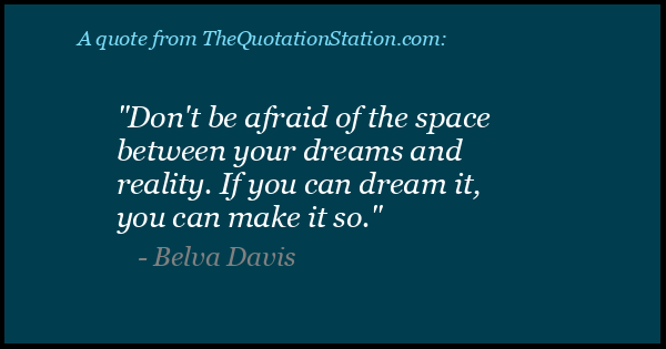 Click to Share this Quote by Belva Davis on Facebook