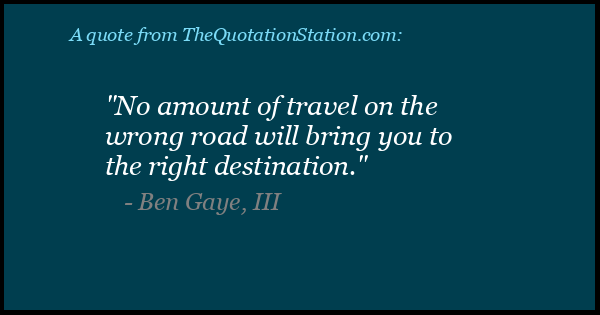 Click to Share this Quote by Ben Gaye, III on Facebook