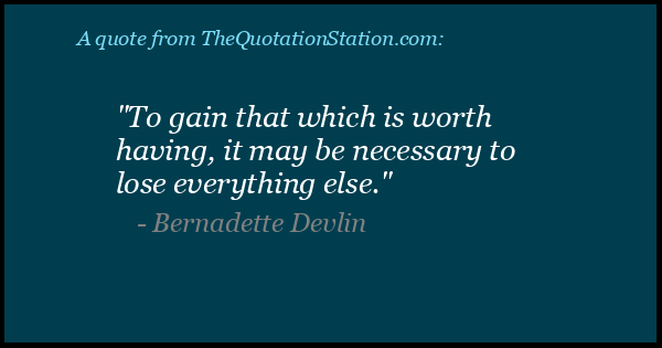 Click to Share this Quote by Bernadette Devlin on Facebook
