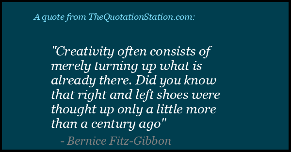 Click to Share this Quote by Bernice Fitz Gibbon on Facebook