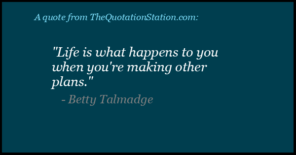 Click to Share this Quote by Betty Talmadge on Facebook
