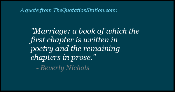 Click to Share this Quote by Beverly Nichols on Facebook
