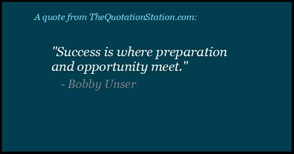 Click to Share this Quote by Bobby Unser on Facebook