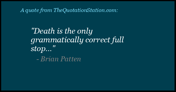Click to Share this Quote by Brian Patten on Facebook