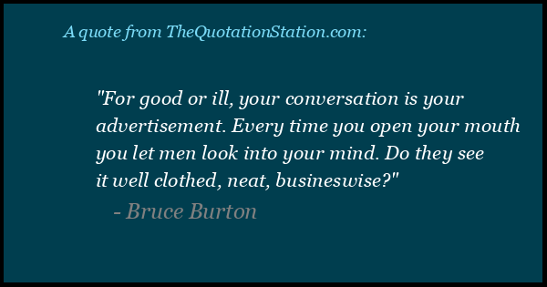 Click to Share this Quote by Bruce Burton on Facebook