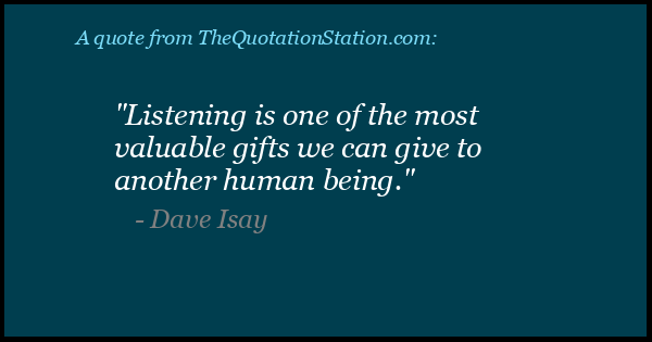 Click to Share this Quote by Dave Isay on Facebook