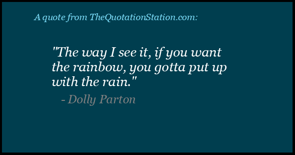 Click to Share this Quote by Dolly Parton on Facebook