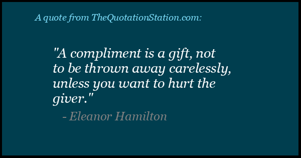 Click to Share this Quote by Eleanor Hamilton on Facebook