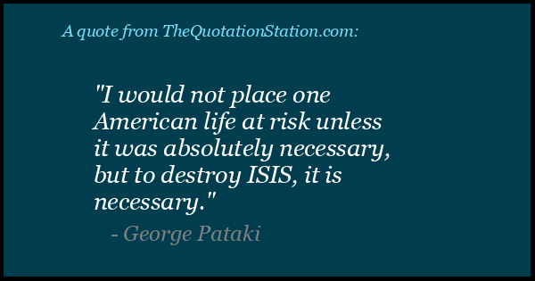 Click to Share this Quote by George Pataki on Facebook