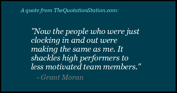 Click to Share this Quote by Grant Moran on Facebook