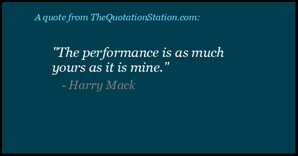 Click to Share this Quote by Harry Mack on Facebook