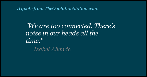 Click to Share this Quote by Isabel Allende on Facebook