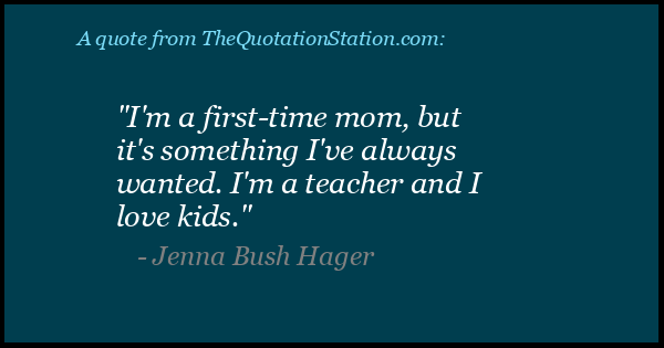 Click to Share this Quote by Jenna Bush Hager on Facebook