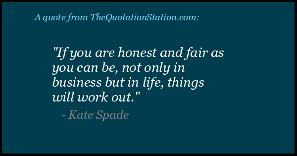 Click to Share this Quote by Kate Spade on Facebook