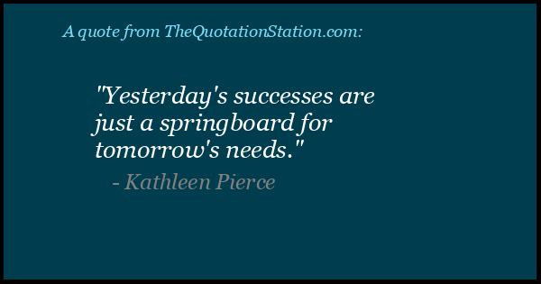 Click to Share this Quote by Kathleen Pierce on Facebook