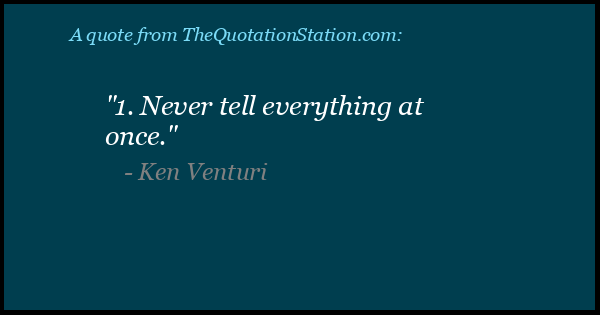 Click to Share this Quote by Ken Venturi on Facebook