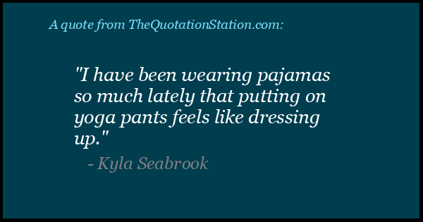 Click to Share this Quote by Kyla Seabrook on Facebook