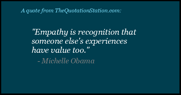 Click to Share this Quote by Michelle Obama on Facebook