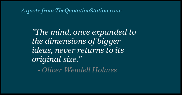 Click to Share this Quote by Oliver Wendell Holmes on Facebook