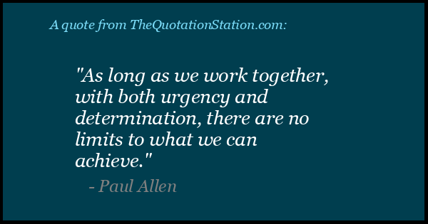 Click to Share this Quote by Paul Allen on Facebook