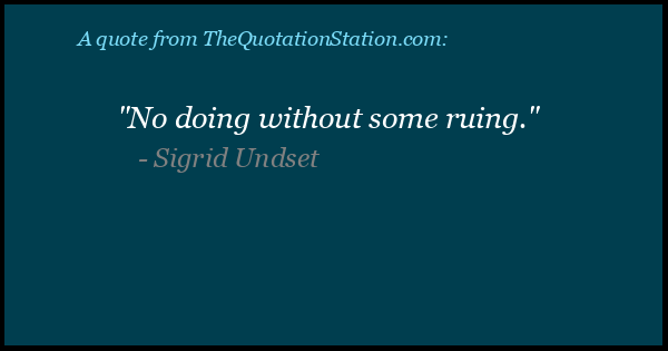 Click to Share this Quote by Sigrid Undset on Facebook