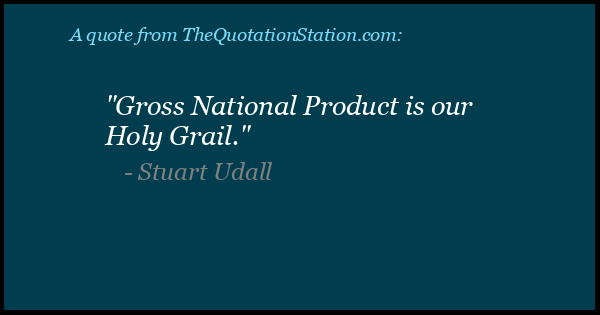 Click to Share this Quote by Stuart Udall on Facebook