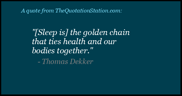 Click to Share this Quote by Thomas Dekker on Facebook