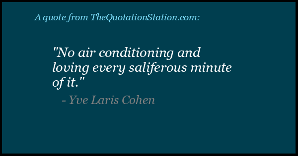 Click to Share this Quote by Yve Laris Cohen on Facebook