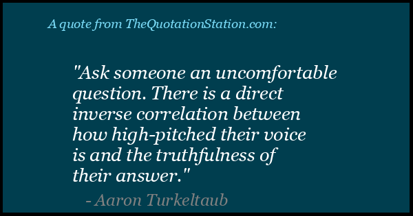 Click to Share this Quote by Aaron Turkeltaub on Facebook